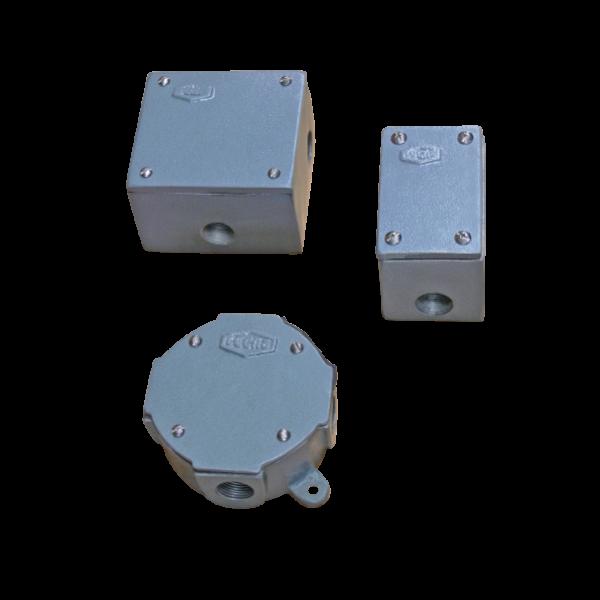 Caja cuadrada, caja octogonal, caja rectangular, halados de cables