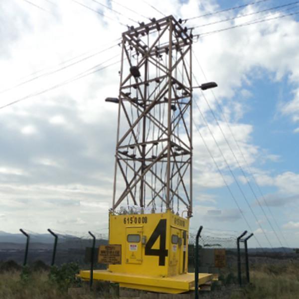 torres moviles tecna, colombia, equipo eléctrico para minería