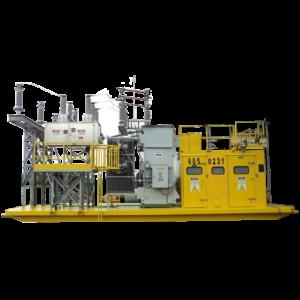 Subestaciones eléctricas móviles, equipo eléctrico para minería, trailers
