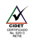 certificación 02513 tecna retie